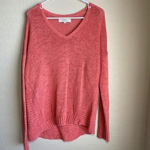 And Taylor LOFT cable knit sweater